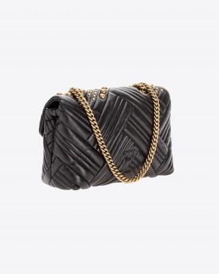 Pinko Classic Love Bag Puff σε μαλακό δέρμα nappa