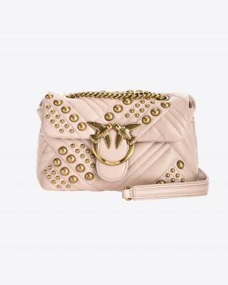 Pinko Μίνι Love Bag Puff σε μαλακό δέρμα nappa
